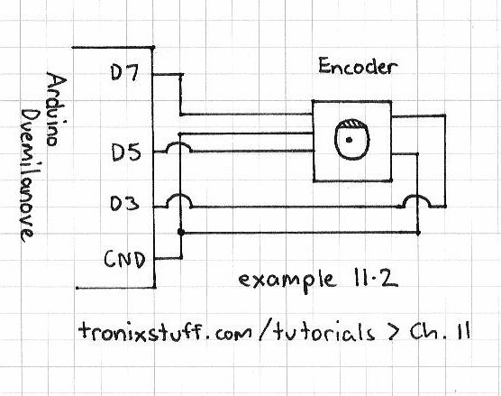 example11p2schem adafruit customer service forums \u2022 view topic rotary encoder rotary encoder wiring diagram at reclaimingppi.co