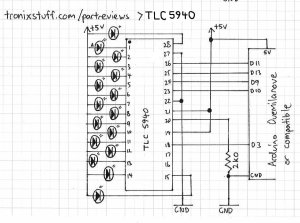 wiring diagram for flashing led lights with Arduino Led Breadboard Circuit on 2013 05 01 archive together with 61eld Mitsubishi Eclipse Gs Find Blinker Relay moreover Two Lights Wiring Diagram likewise 12 Volt Led L  Schematic additionally Light Bar Wiring Harness Bulk.