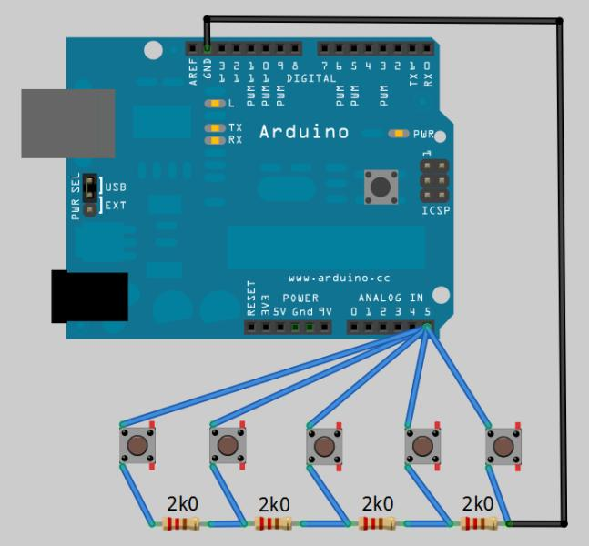 Arduino push button play sound