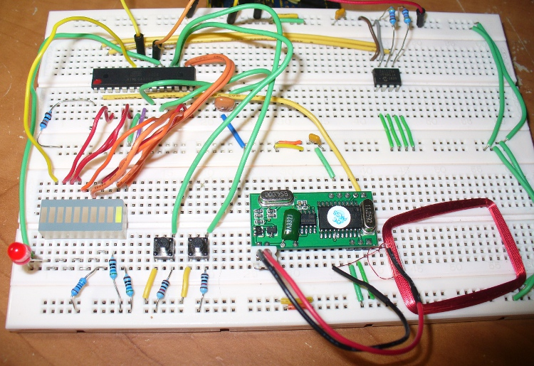 Project simple rfid access system