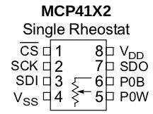 mcp4162pinout