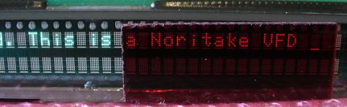 Noritake CU40026SCPB-T20A VFD