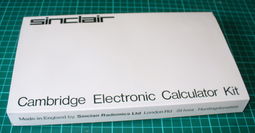 Sinclair Cambridge Calculator