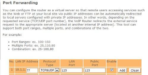 Arduino-router-port-forwarding