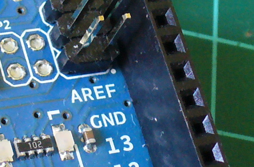 Arduino Tutorials – Chapter 22 – the AREF pin | tronixstuff com