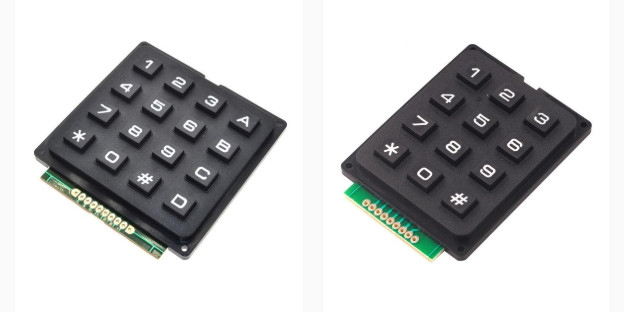 Numeric keypads from PMD Way