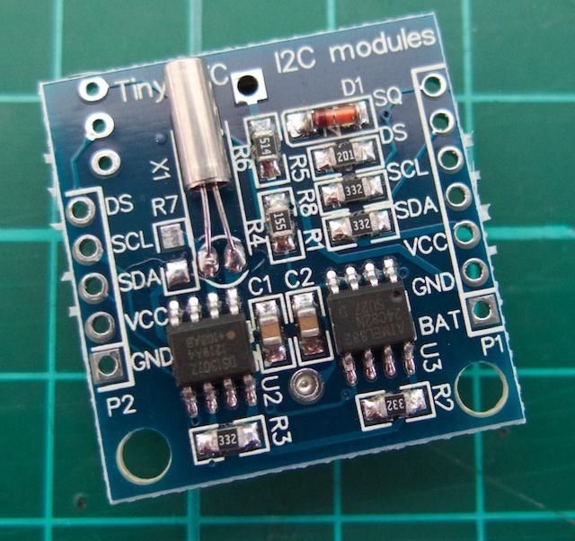 Duinotech real time clock module